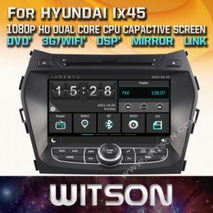 Lettore DVD stereo radiofonico di Witson Windows per Hyundai IX45 Santa Fe 2013 2013
