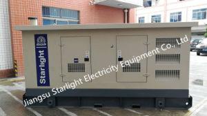 165kw 주요한 디젤 Generator/206kVA Wuxi 힘 엔진 전기 닫집 발전기