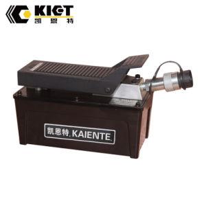 2017 Kiet en aluminium portable pied de la pompe hydraulique pneumatique
