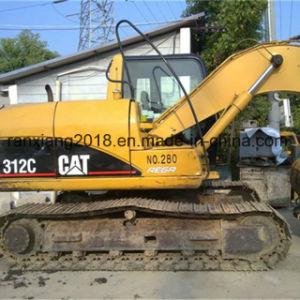 Mini originale usato dell'escavatore Cat312c del gatto da vendere