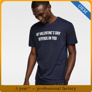 Los hombres de moda mayorista de algodón impresos T-Shirt