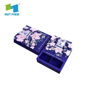 호화스러운 종이에 의하여 인쇄되는 케이스 전자 팔찌 최신 각인 선물 상자 관례 로고