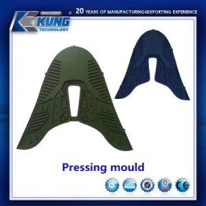 Material de aluminio de molde prensa de calor para hacer la parte superior de zapata