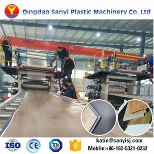 Cliquez sur le verrou en plastique flexible en PVC Vinyl Plank Spc Machines de revêtement de sol