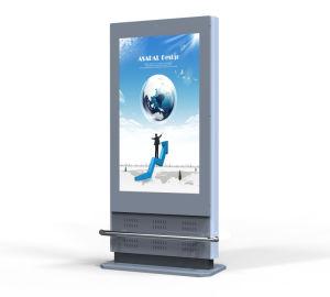 Kundengerechtes Zoll WiFi LCD Totem-im FreiendigitalSignage, der Erscheinen bekanntmacht