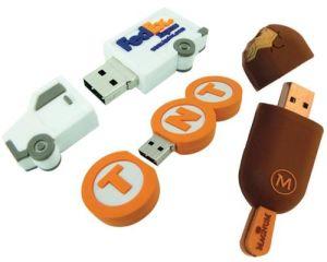 Memory Stick USB personalizados, Custom 2D-2D dente USB com o logotipo personalizado