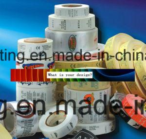 サテンのラベルの多タイプファブリックラベルのリボンのFlexoの印刷Machine3/1