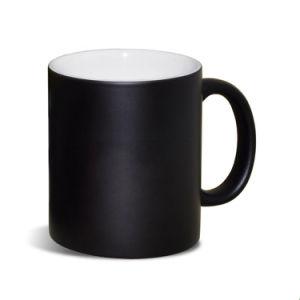 Super Cool Cat canecas a mudança de cor do vaso de cerâmica Dom Café para calor amigo revelar Magic