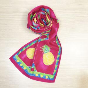 女性Neckerchiefまたは長い服の絹のSoieのスカーフの販売
