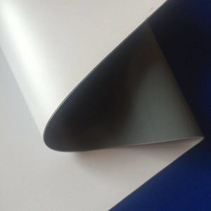 Pullup Pet/PVC 420gの光沢Greyback
