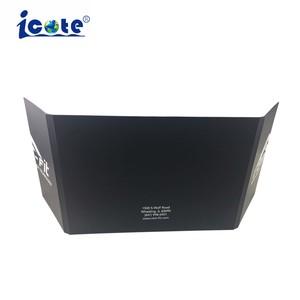 2 painéis LCD de design único cartão de vídeo Brochura de vídeo