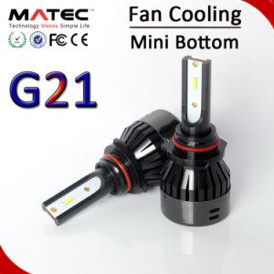 4 H7 H11 H4 Hb3 Hb4のヘッドライトを冷却する側面LEDチップ80W 8000lm Canbusファン