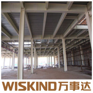 Amplia gama Bastidor de la estructura de acero prefabricadas construcción prefabricados para Australia