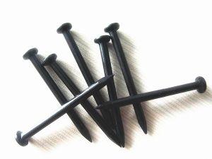 Zwarte Concrete Spijker Van gehard staal voor Bouw