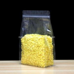 Матовая ясно полимерная встать пакет Ziplock плоской нижней части органа мешки гофрированный карман для кофейных зерен гайки для хранения постели пластмассовый Doypack тепла Zip-Lock карманы для хранения