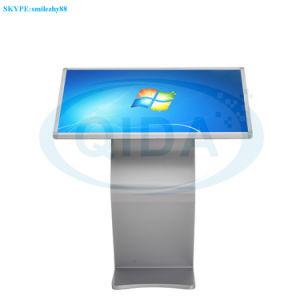 熱プリンターが付いている自由な地位LCDの表示のタッチ画面の照会のキオスク