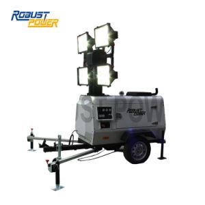 発電機が付いている低い消費および騒音レベルLED軽いタワー