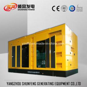 Звуконепроницаемые 570квт электроэнергии Cummins молчания дизельных генераторах