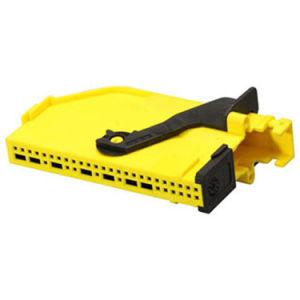 Youye 43 Pinos do Conector Fêmea de Automóvel de Alimentação do Conector do Fio Preto/Amarelo de cor