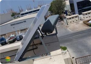 密集させなさい2デザイン6200lm 50W LED別のPV 100Wおよび組み込み548whリチウム電池(SN-S50W)の太陽洪水ライトのすべてを