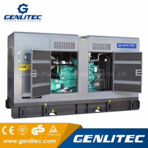 無声タイプCummins Qsk19-G4のディーゼル機関の発電機520kw/650kVAの発電