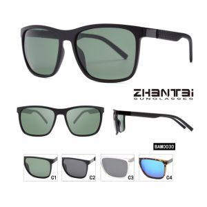 2018 de Nieuwe Zonnebril China van de Douane van de Glazen van de Zon van de Stijl Modieuze Gepolariseerde In het groot (BAM0030)