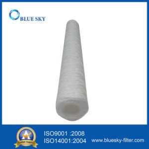 10 filtro dalla cartuccia dell'acqua della ferita della stringa del micron pp per i 20 pollici lungo