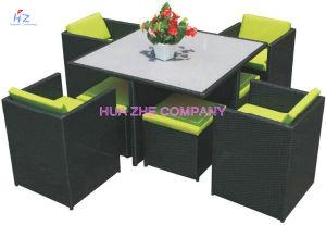 Hz-Bt95 горячая продажа диван для использования вне помещений плетеной мебели со стулом таблица плетеной мебелью обставлены плетеной мебели для плетеной мебели