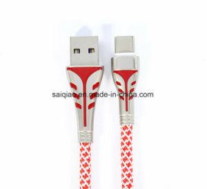 Mehrfarbentyp-cc$c aufladendaten-Kabel für Huawei