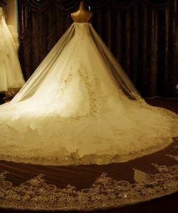 2018의 결정 Prom 저녁 무도회복 신부 결혼 예복 (WD3001)