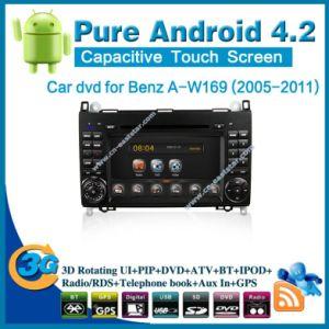 Pure Android 4.2 DVD para coche Benz un W169 con la navegación GPS PC Radio Bluetooth Car Kit TV USB
