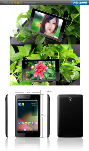 Tablet PC 2G, 3G telefone duplo SIM com núcleo duplo