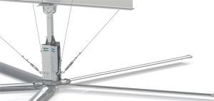 6 meter in de Ventilators van Hvls van de Diameter voor Grote Workshop met 5 Bladen