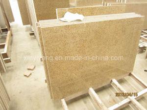 G682 de besnoeiing-aan-Grootte van de Steen van het Graniet van de Zonsondergang Gouden Rustieke Tegel