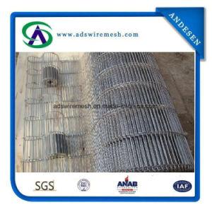 En acier inoxydable 304 de la courroie flexible plat, de la courroie du convoyeur