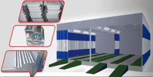 Станция/будочка подготовки стандартного славного качества Ce автоматические