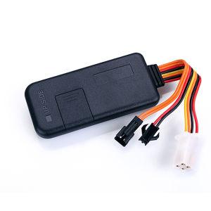 Corte do suporte de motor e Rastreador GPS veicular remotamente com o APP no Android Truck Tracker TK116