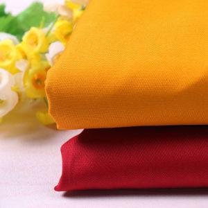 最も良い剛さポリエステル綿のあや織りのWorkwearファブリック