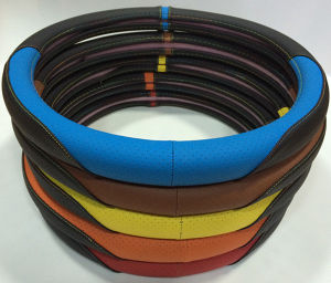 New design sport serials Colorful Car Steering Wheel cover