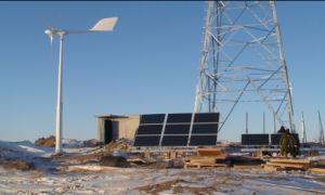 5kw steuern Wind-Turbine-System mit Controller, Inverter und Aufsatz automatisch an