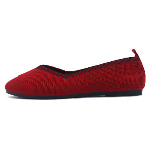 De Toevallige Schoenen van de Ballerina van het Schoeisel van vrouwen met Uitstekende kwaliteit