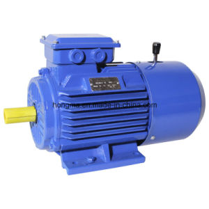 Motor eléctrico trifásico 132s-8-2.2 de Indunction del freno magnético de Hmej (C.C.) electro