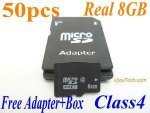 Reale 8GB Mikro-Sd Karte der Kategorien-4 (8GB-TF-UJOYTECH)