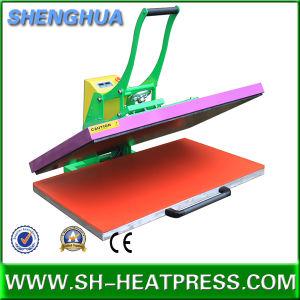고압 수동 열전달 기계 60X80cm 60X100cm 승화 인쇄를 위해 70X100cm
