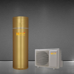 bomba de calor de fonte de ar dividido de Utilização Doméstica Residencial aquecedor de água 100L-500L
