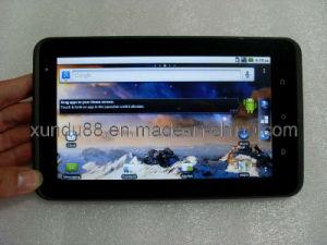 A Qualcomm 7227-T + CPU 800MHz Tablet telefone + 3G interna (WCDMA) + Dual Câmera + + Bluetooth +3GPS D elegante interface de menu+ Aparência HTC