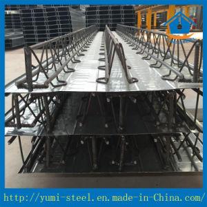 Barra de aço galvanizado Viga de serrilha Folha em deck para Edifícios Irregular