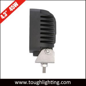 As luzes LED Auto 4.5In 45W do feixe de inundação LED CREE lâmpadas de trabalho do Trator