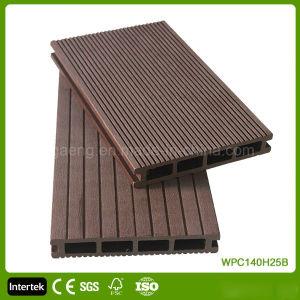 Outerior PE decorativos de madera revestimientos de suelos de baldosa/WPC junta