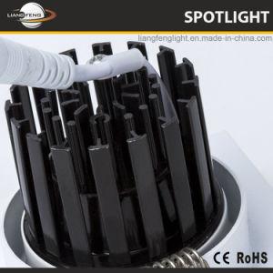 China vender quente LED quadrada de 7 W de alumínio COB Spotlight baixar